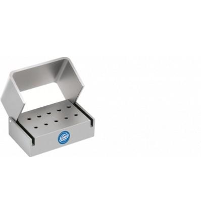 Coffret stérilisable pour 10 instruments turbine
